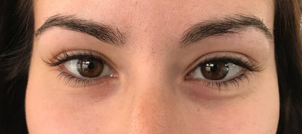 Eyelash Extensions Before